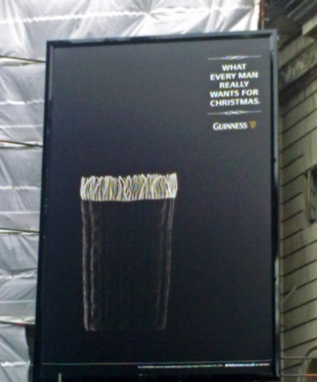 Campagna pubblicitaria Guinness 2011