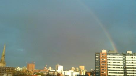 Arcobaleno a Manchester /2