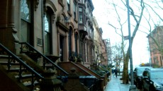Brooklyn - le town houses stupende. Brooklyn è più fica di Manhattan.
